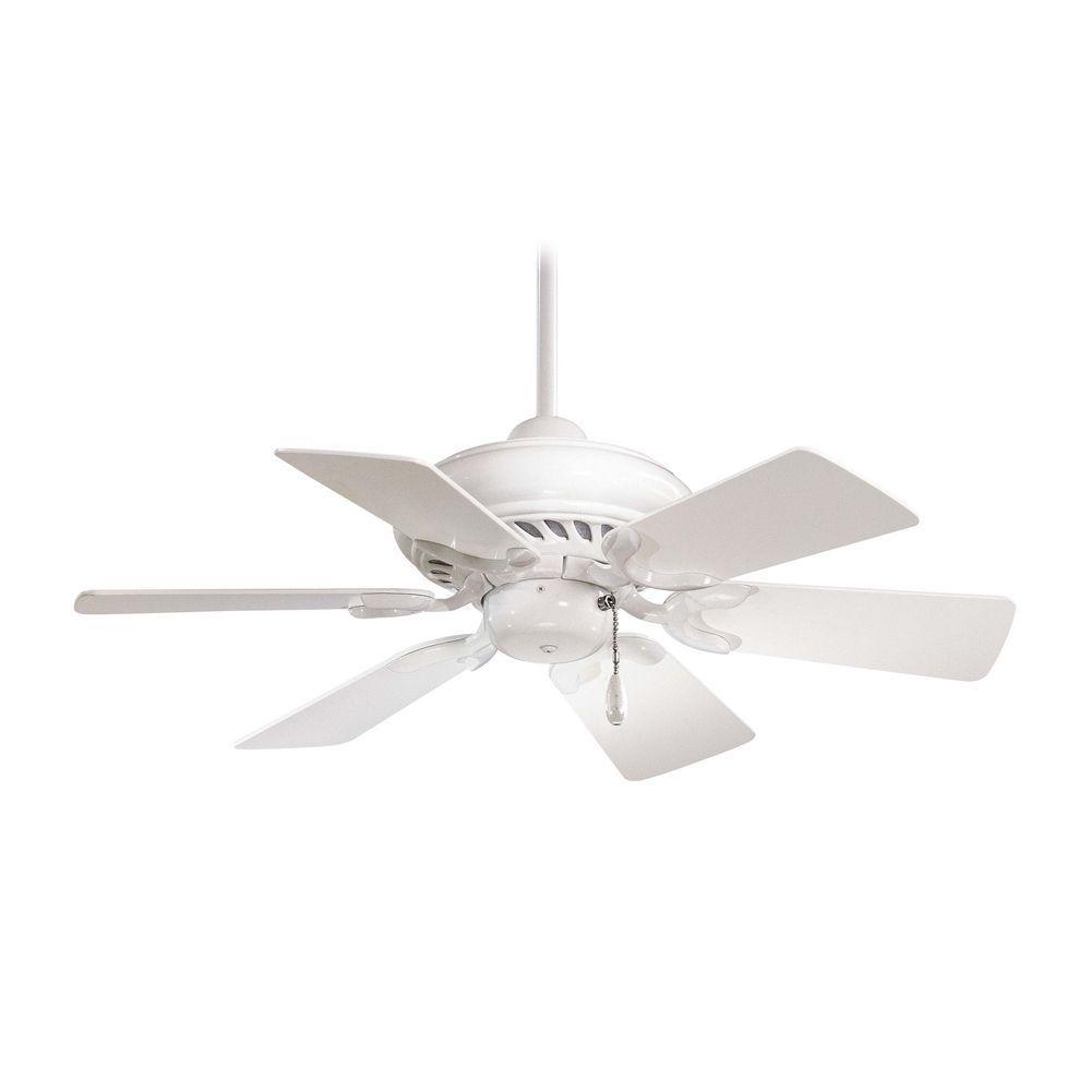 32 Inch Ceiling Fan Without Light In White Finish F562 Wh Destination Lighting Ventilator Deckenventilator Fernbedienung