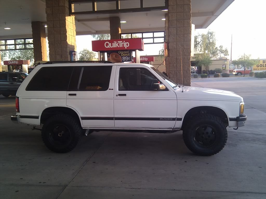 1992 Lifted S10 Blazer Brand New Rubber Cold Ac 2700 Chandler