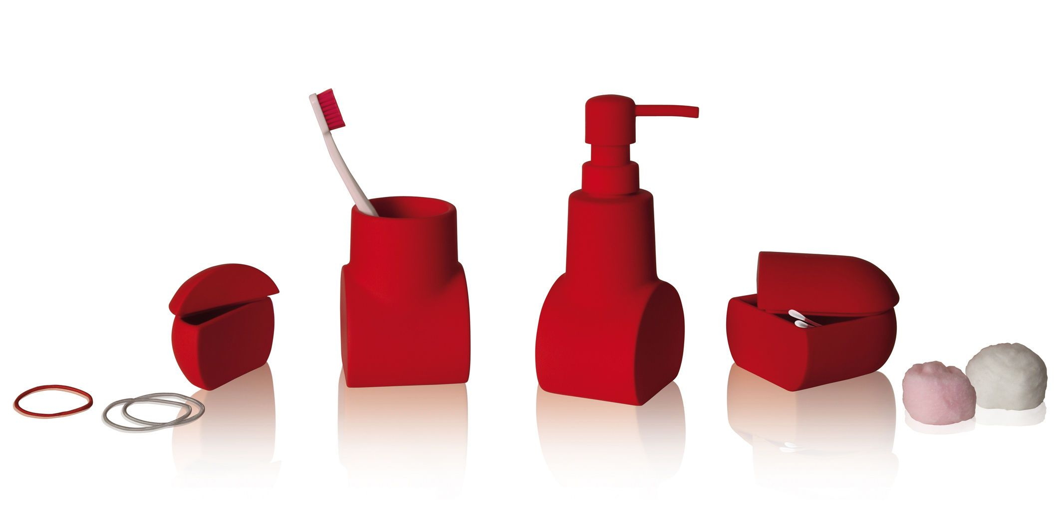 red bathroom accessories set uk | ideas 2017-2018 | Pinterest | Red ...