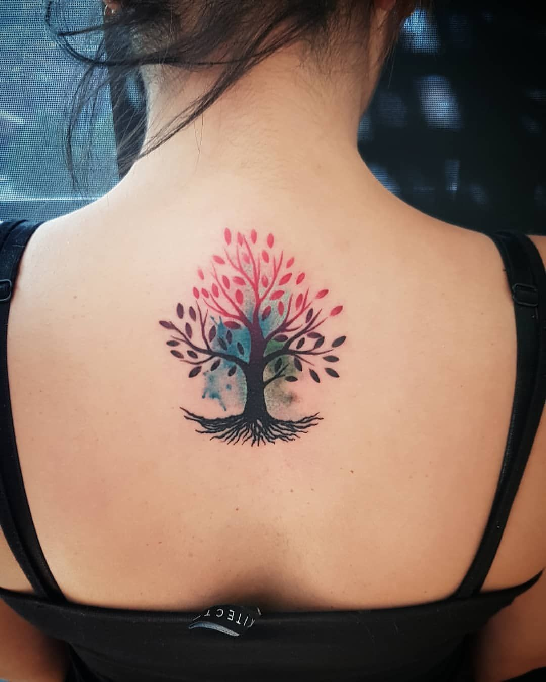 Arbol De La Vida Tatuaje Del Arbol De La Vida Tatuaje Arbol De La Vida Tatuaje A Color