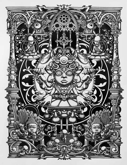 Arte, detalles, tintas e inspiración de JOE FENTON. - Colectivo Bicicleta | Revista digital/Artes visuales. ilustración y diseño Colombia y Latinoamerica