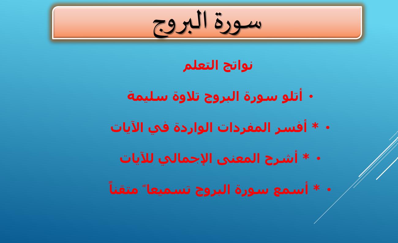 درس سورة البروج الصف الرابع مادة التربية الاسلامية بوربوينت Mobile Boarding Pass