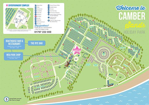 Camber Sands Holiday Park Map Of Camber Sands Camber Sands Parkdean Resorts Holiday Park