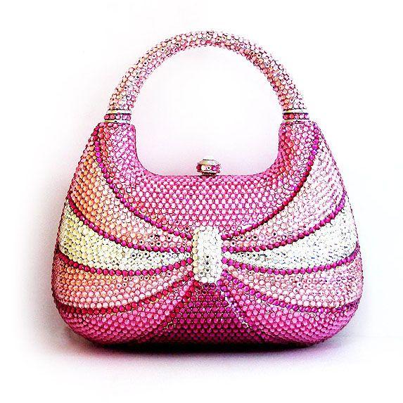 Swarovski Crystal Handbag Diva Theme