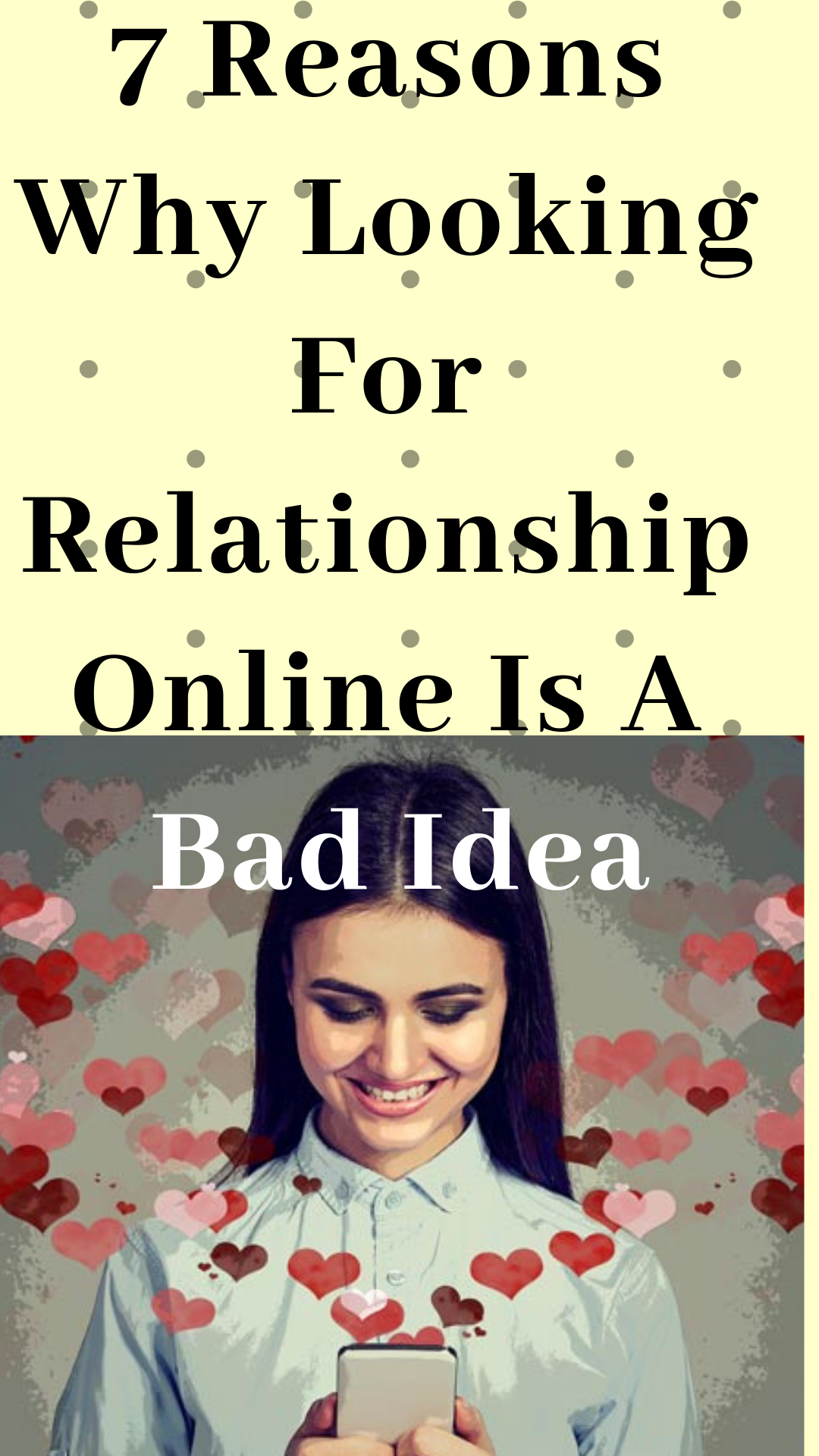 Online dating good or bad idea