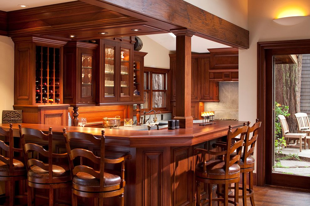16 Awe-Inspiring Rustic Home Bars For An Unforgettable Party | Bar ...