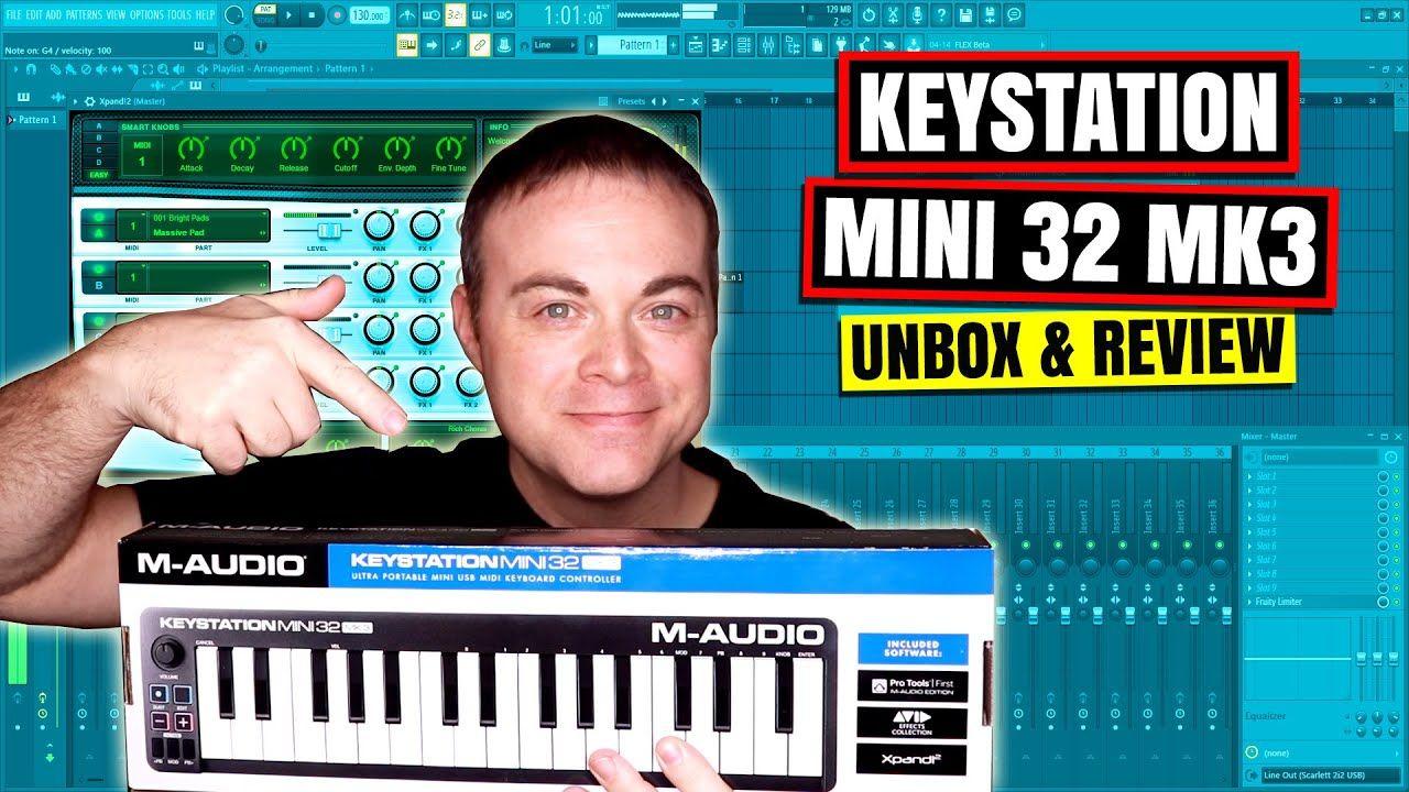 M Audio Keystation Mini 32 MK3 Mini Midi Keyboard 2019