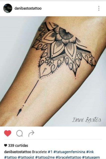 Photo of 48 Trendy Tattoo Arm Mandala Compass