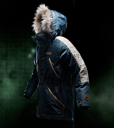 Rogue One inspired Columbia Jacket