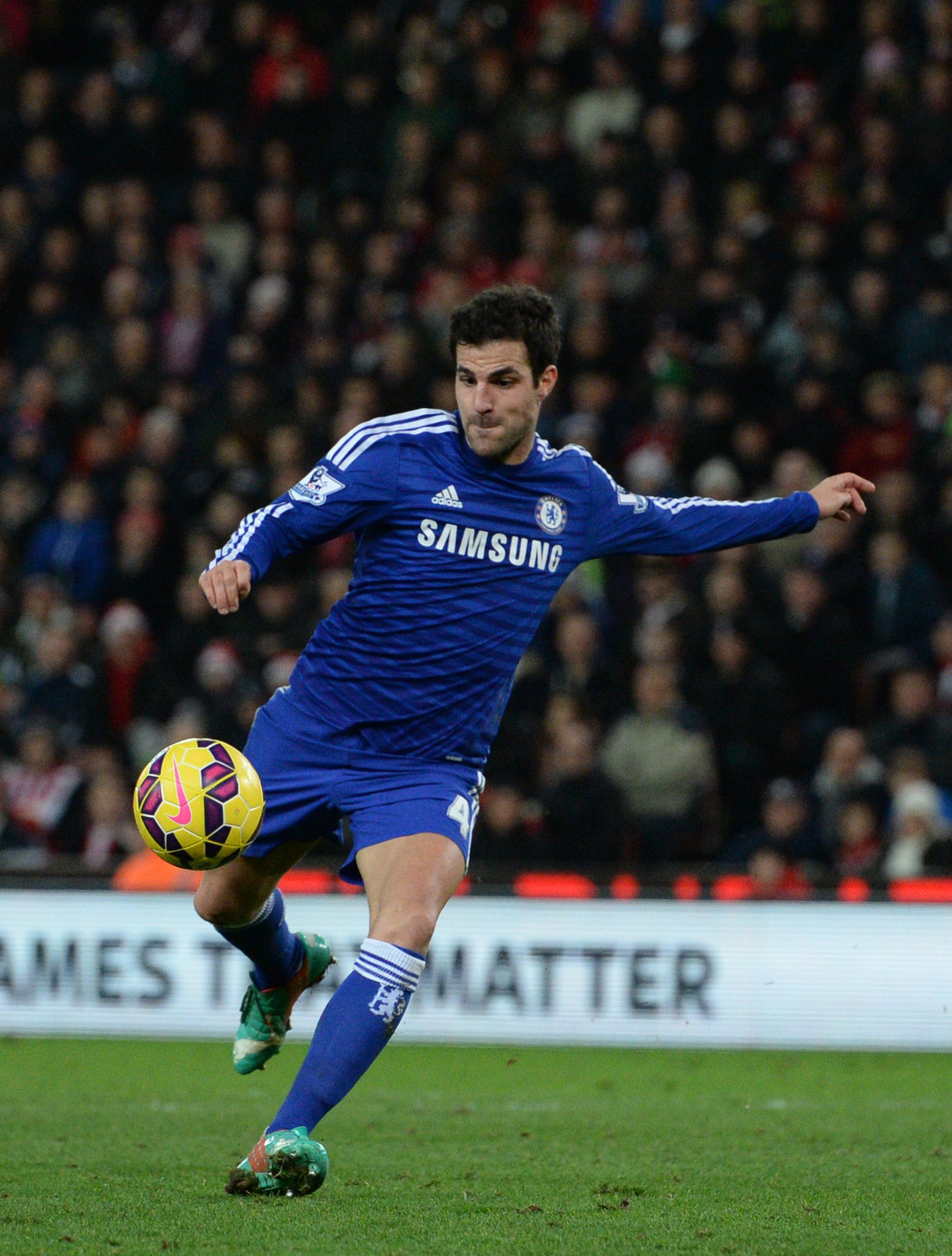 Cesc Fabregas scored the winning goal for Chelsea FC against QPR today.  Chelsea retain their 5af628fd5c9af