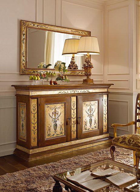 Wooden Showcase Designs For Living Room Lakdi Ka Showcase: Italian Luxury Dining Room Wood Furniture. Andrea Fanfani