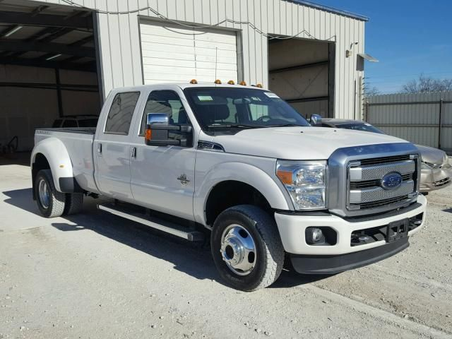 Salvage 2016 Ford F350 Platinum Pickup For Sale