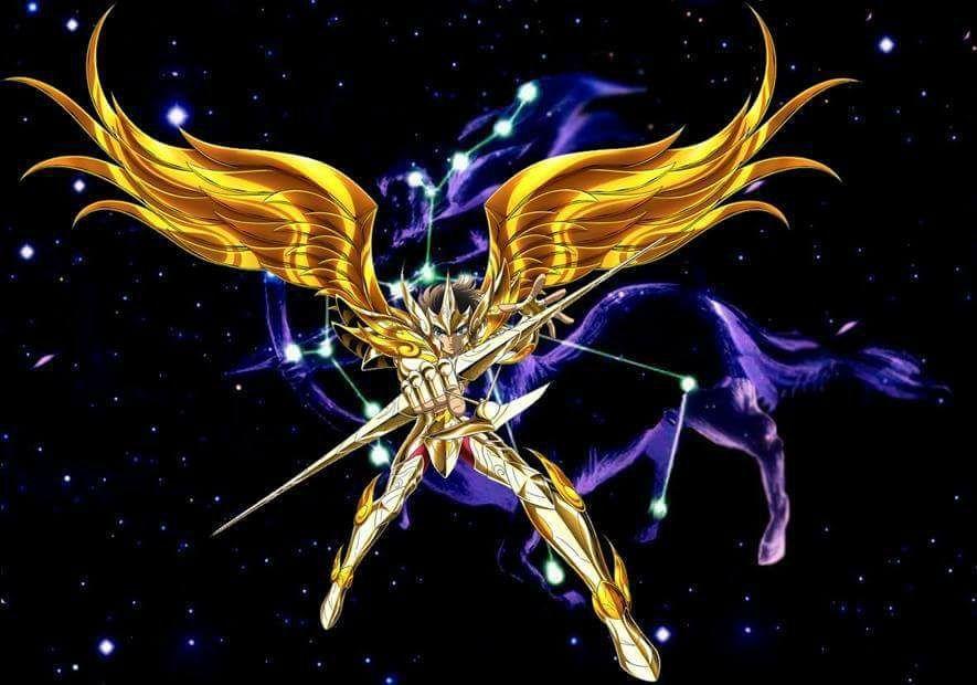 Sagittarius Aioros Cavaleiros do zodiaco Cavaleiros do