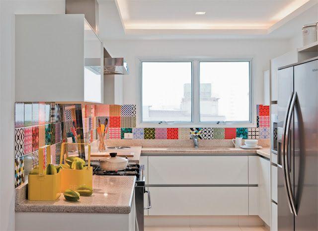Azulejos para una Cocina Unica COCINAS Pinterest House