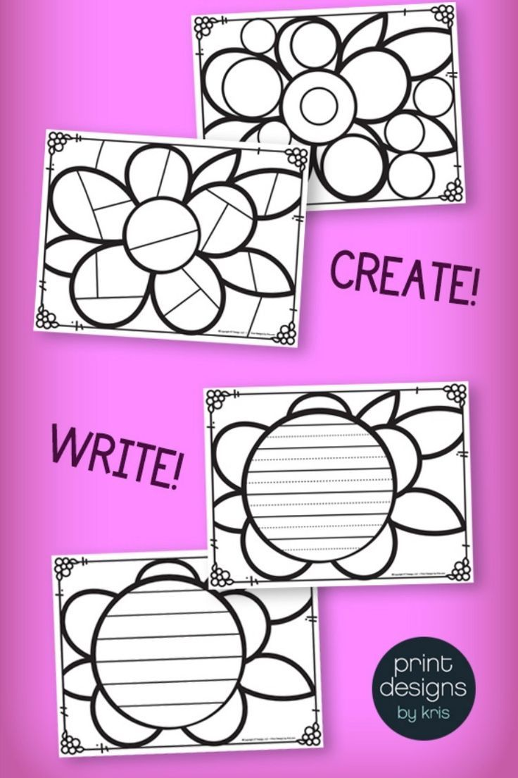 SPRING Activity Pages Doodle Coloring Pages for SPRING