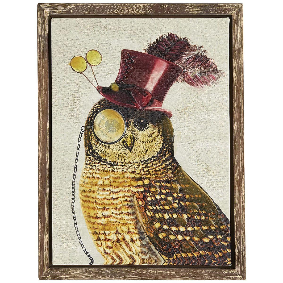 Resourceful Owl Art | Pier 1 Imports | Birds | Pinterest