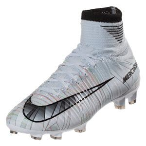 Nike Junior Mercurial Superfly V Cr7 Fg Kids Soccer Cleat Blue Tint Black White Volt Kids Soccer Cleats Soccer Cleats Cleats