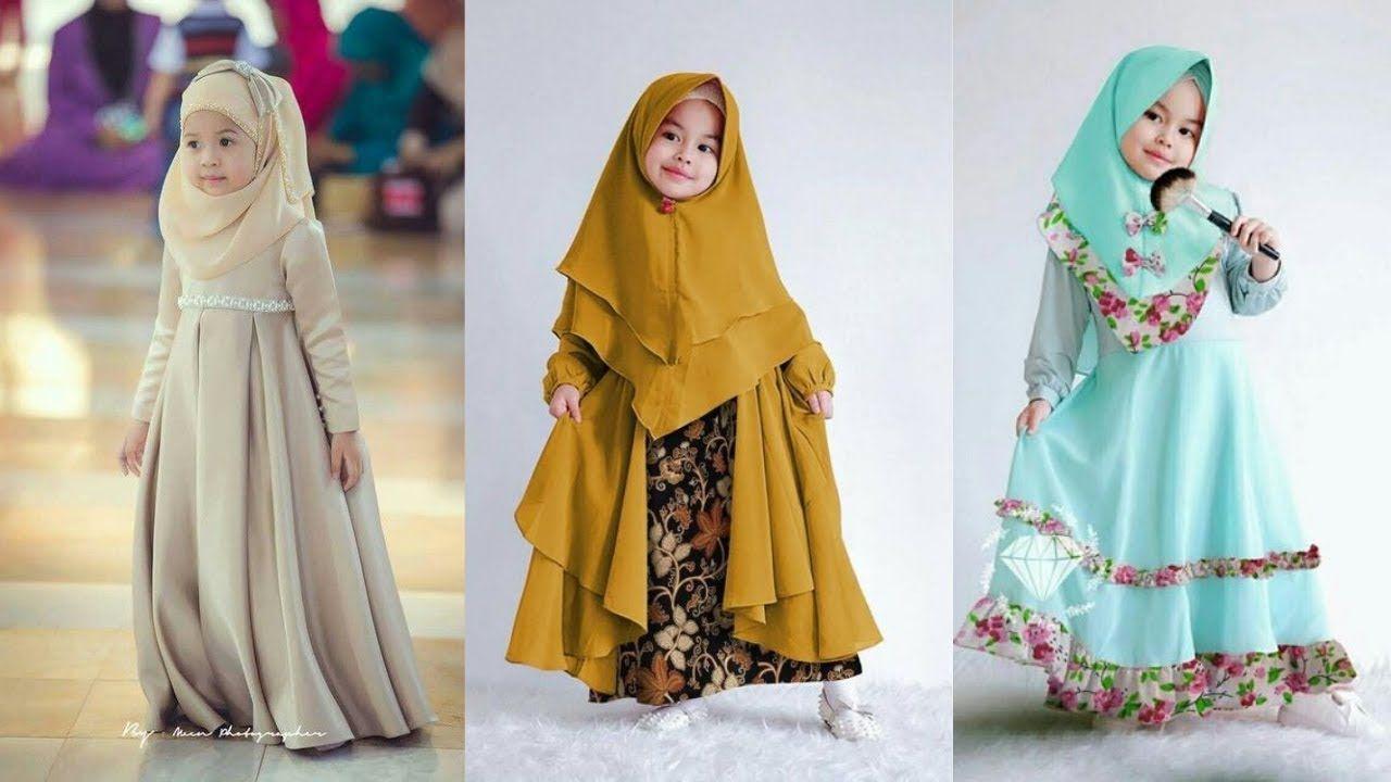 Model Baju Fashion Show Anak Muslimah