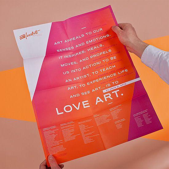 Elevarte Branding by Firebelly | Inspiration Grid | Design Inspiration