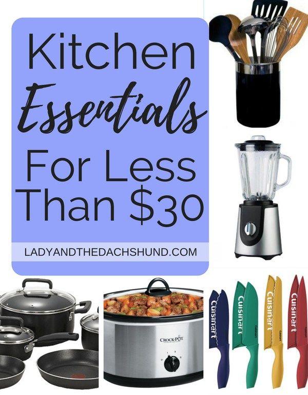 7 Kitchen Essentials Under $30 | Pinterest | Cheap kitchen, Kitchen ...