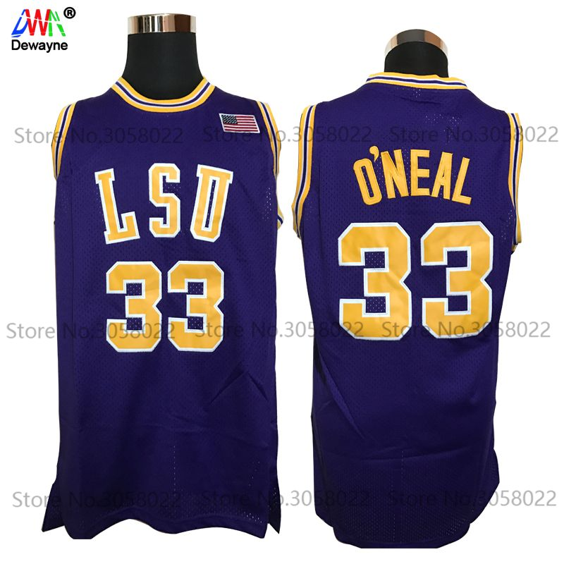 newest 06c45 07a99 2017 Men Dwayne Shaquille O'neal Cheap Throwback Basketball ...