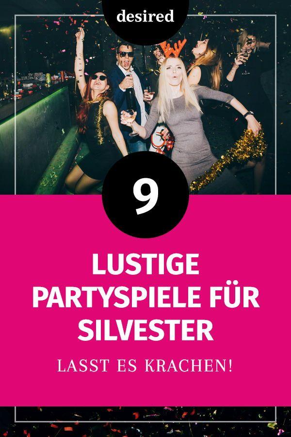 9 lustige Partyspiele für Silvester | desired.de