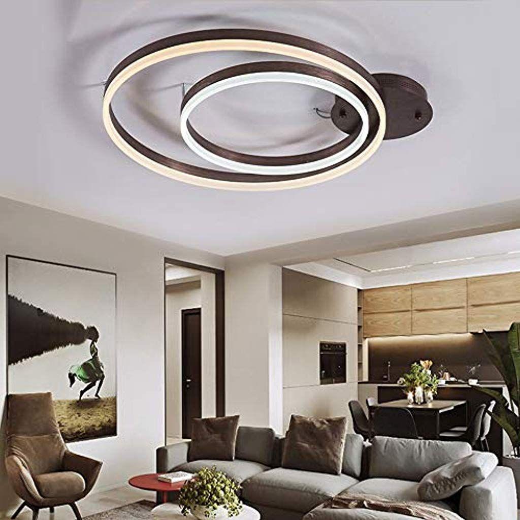 Kronleuchter Warmes Licht Acryl Runde Deckenleuchte Kreative Personlichkeit Ausstellungsraum Arbei Minimalistische Wohnzimmer Ausstellungsraum Innenbeleuchtung
