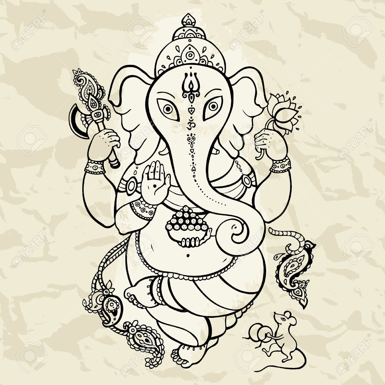 ganesh head tattoo designs - Google Search | Tattoo ideas | Pinterest