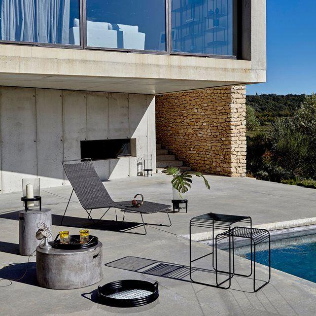 Bain De Soleil Ambros Design E Gallina Am Pm Transat Jardin Bain De Soleil Table Basse Exterieur