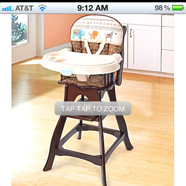 Carter S High Chair Classic Comfort Reclining From Jcpenney