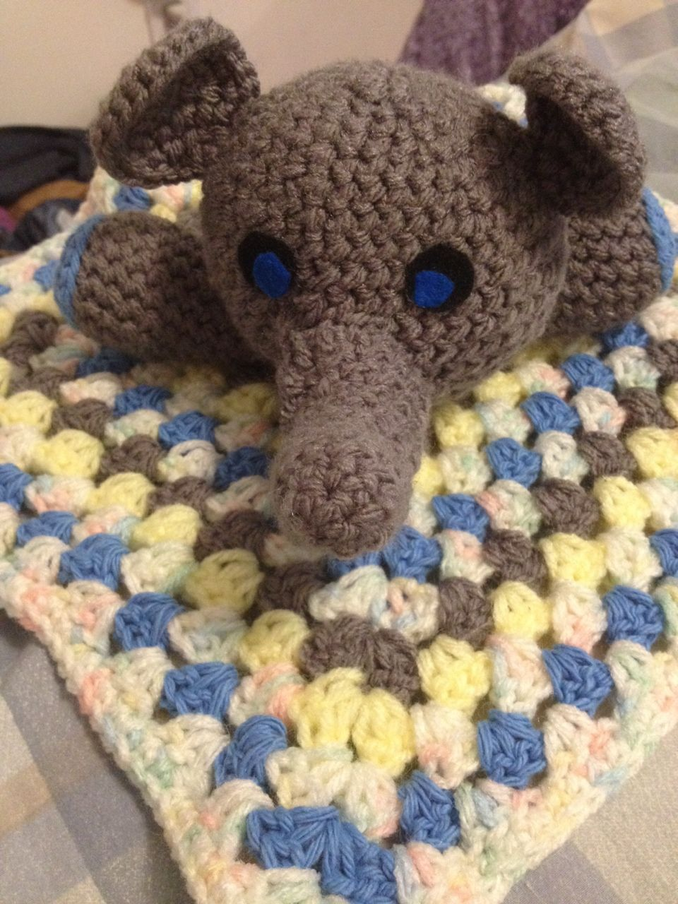 Elephant Baby Blanket Crochet Pattern Magnificent Decorating Ideas