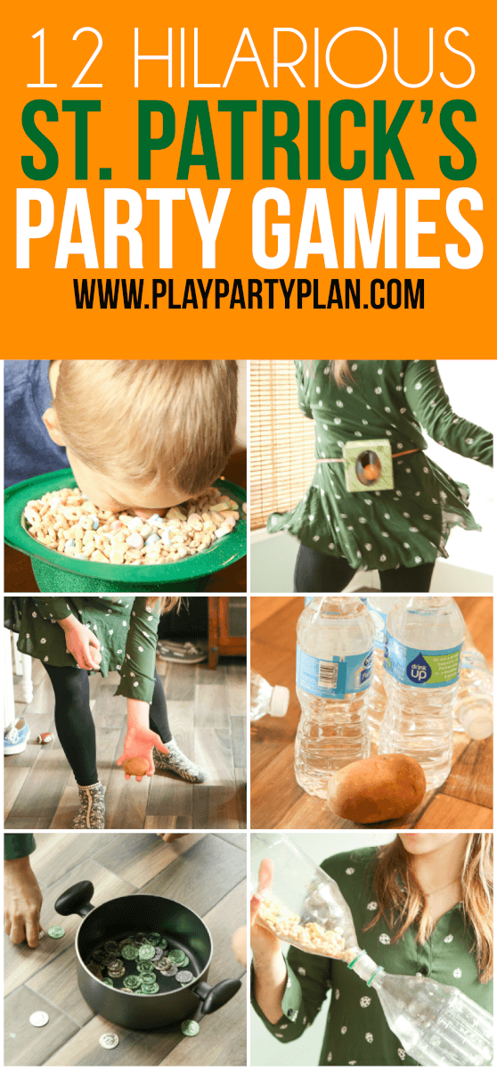 12 Hilarious St. Patrick's Day Games for Kids and Adults – Play Party Plan