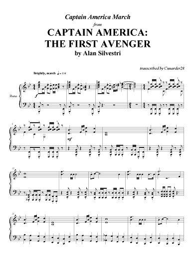 Captain America: The First Avenger - March - Alan Silvestri