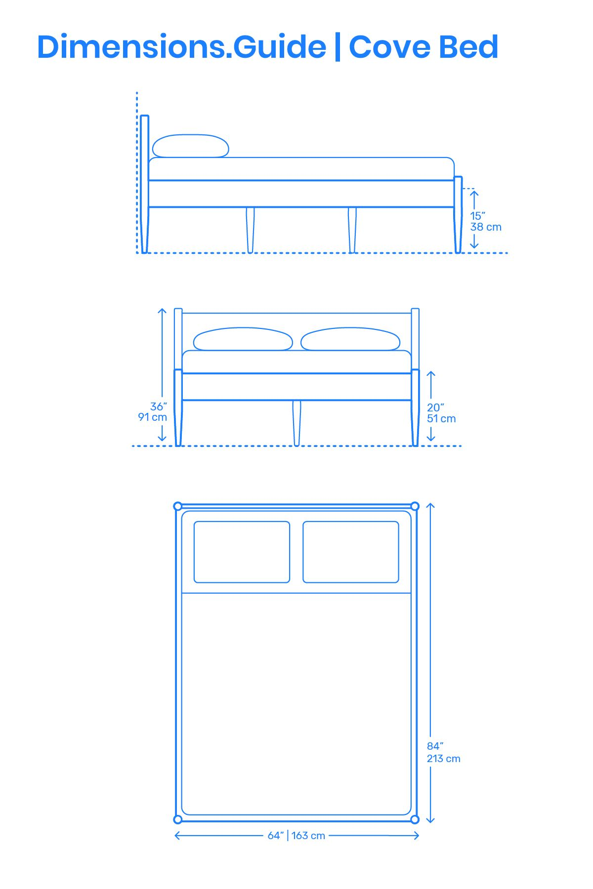 Cove Bed Scale Comparison Queen Size Bed Frames Bed Frame Design Bed Frame Sizes