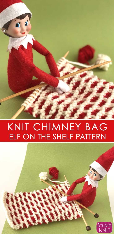 Elf on the Shelf Knitting Ideas | Pattern books, Knitting patterns ...