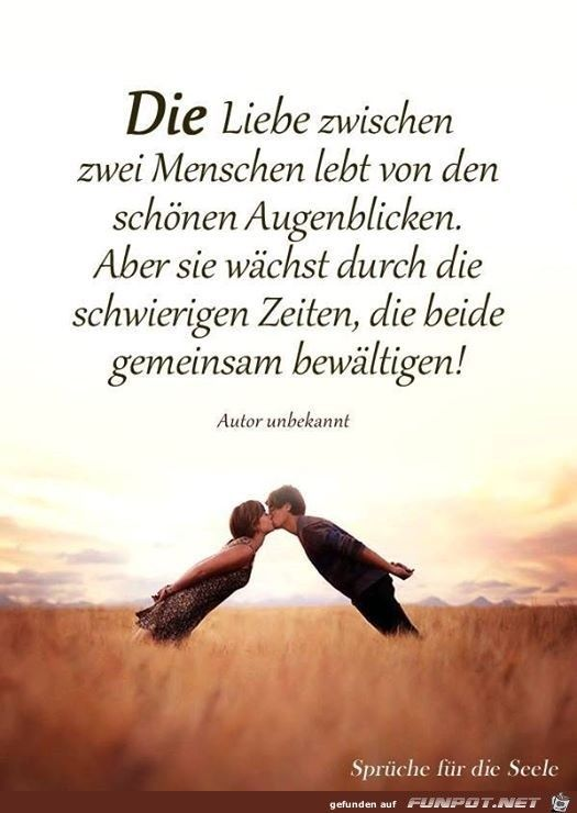 die liebe zwischen zwei Menschen | Zitate | Quotes, I love you und