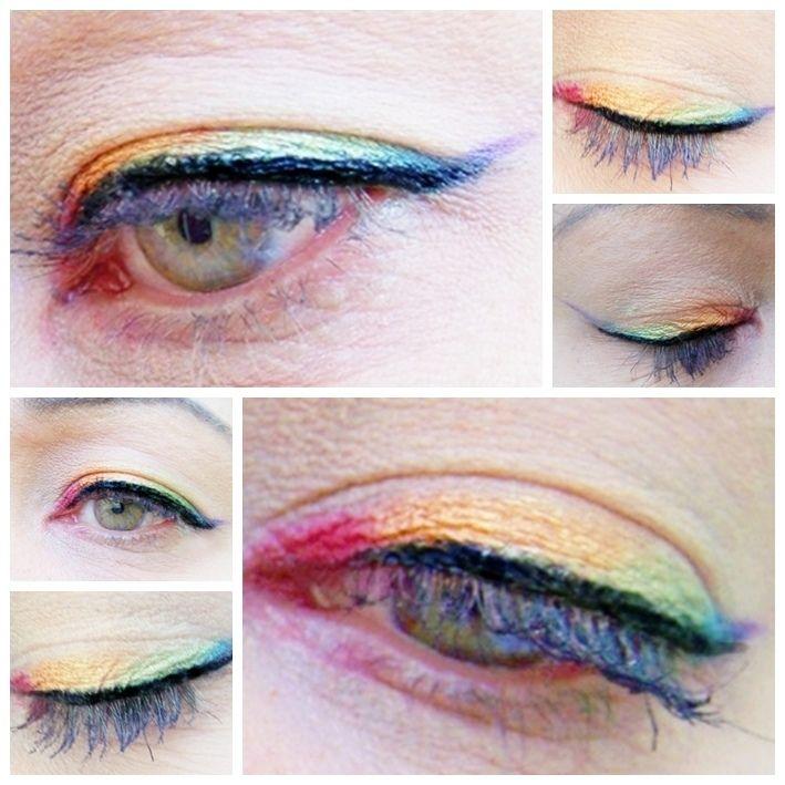 Like a Rainbow Rainbow eyeliner