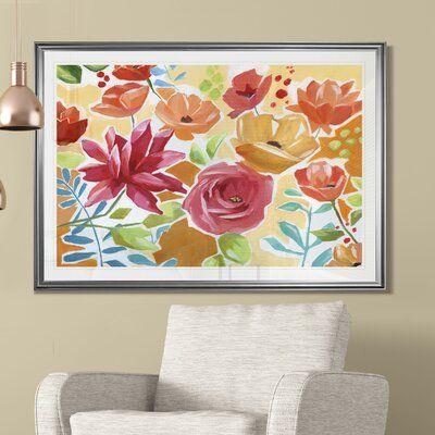 Bungalow Rose Modern Garden Vi Print Modern Garden Front