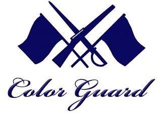 color guard logos clipart best pinteres rh pinterest com color guard clip art marching band military color guard clip art