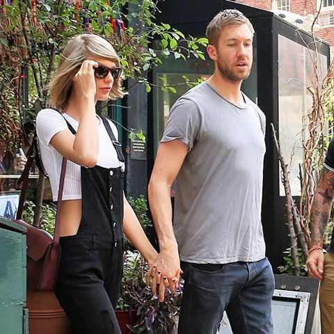 After almost a year and a half of dating, Taylor Swift and Calvin Harris' love story has ended. Click the link in bio for the full story.  (: Christopher Peterson/Splash News)