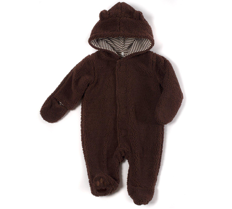 Magnificent Baby Baby Boys Magnetic Smart Bears Fleece Jacket B