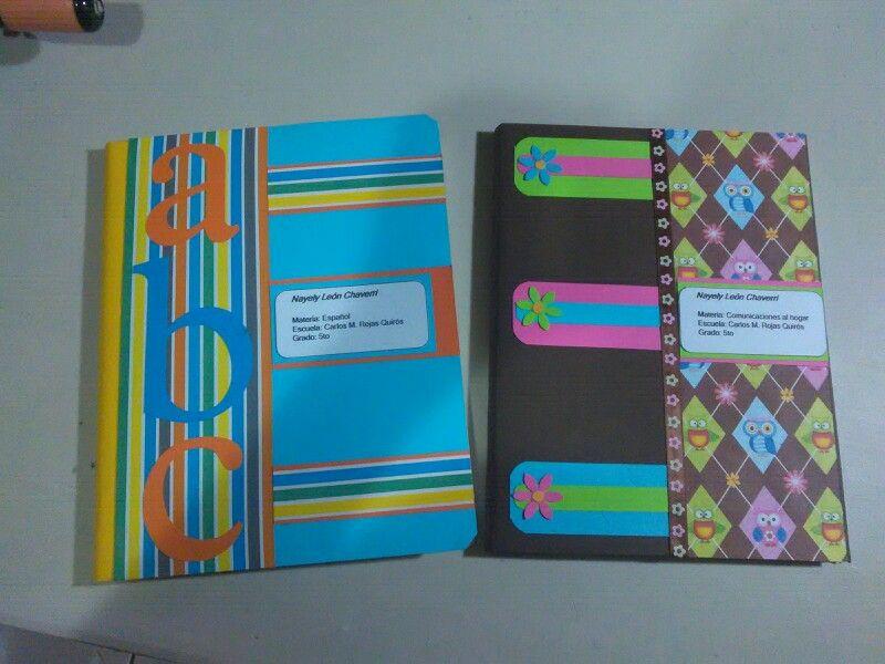 Portadas Para Decorar Cuadernos Libretas Y Agendas: Portadas Para Cuaderno.