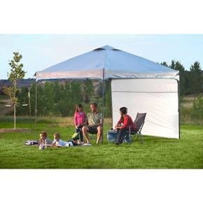Coleman® Instant Canopy with Sunwall 10u0027 x 10u0027  Target  sc 1 st  Pinterest & Coleman® Instant Canopy with Sunwall 10u0027x10u0027 - Gray | Camping outdoors