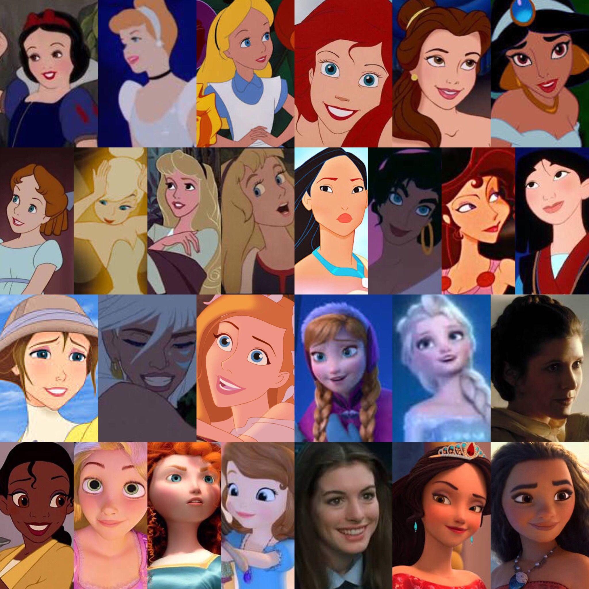 Персонажи диснея картинки с именами