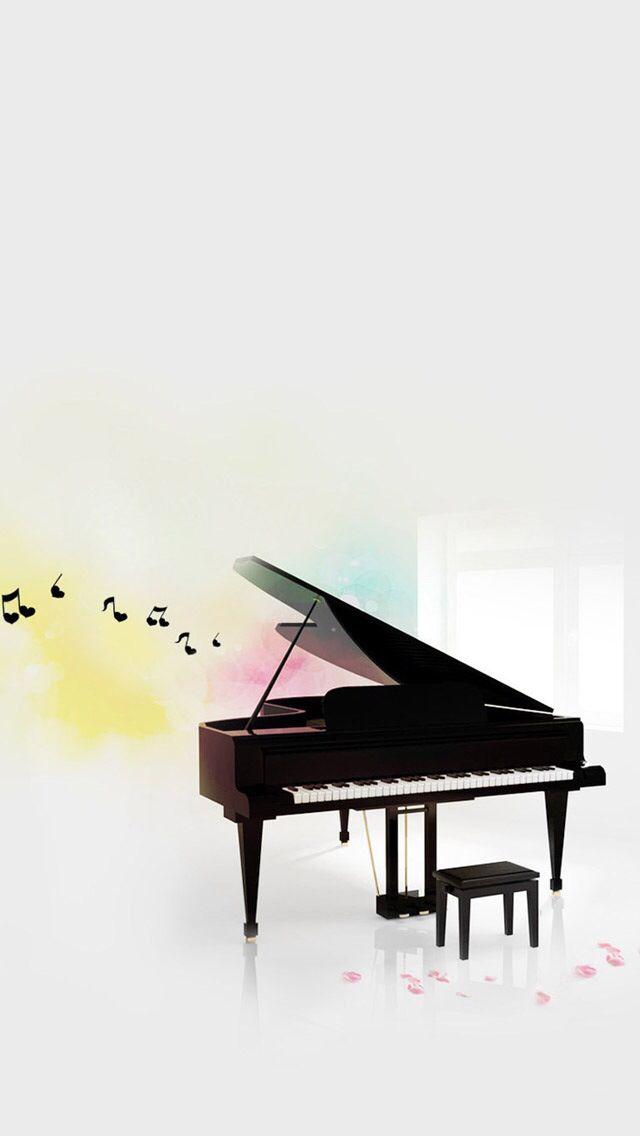 Piano Wallpaper Musica De Piano Papel De Parede Musical The Piano
