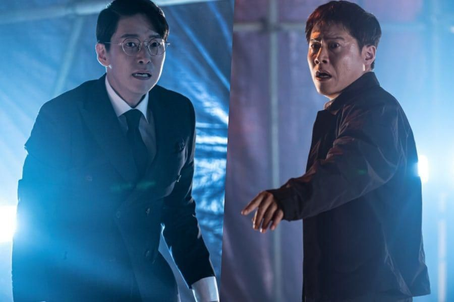 """Uhm Ki Joon And Park Ho San Grow Stiff With Tension At Crime Site In """"The Penthouse 3"""""""