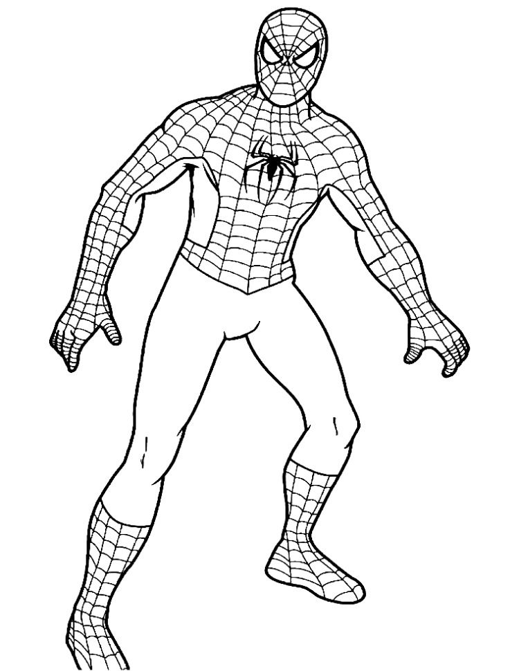 Spiderman Batman Hulk Coloring Pages For Kids Best Gift For Etsy In 2021 Spiderman Coloring Superman Coloring Pages Spiderman Drawing