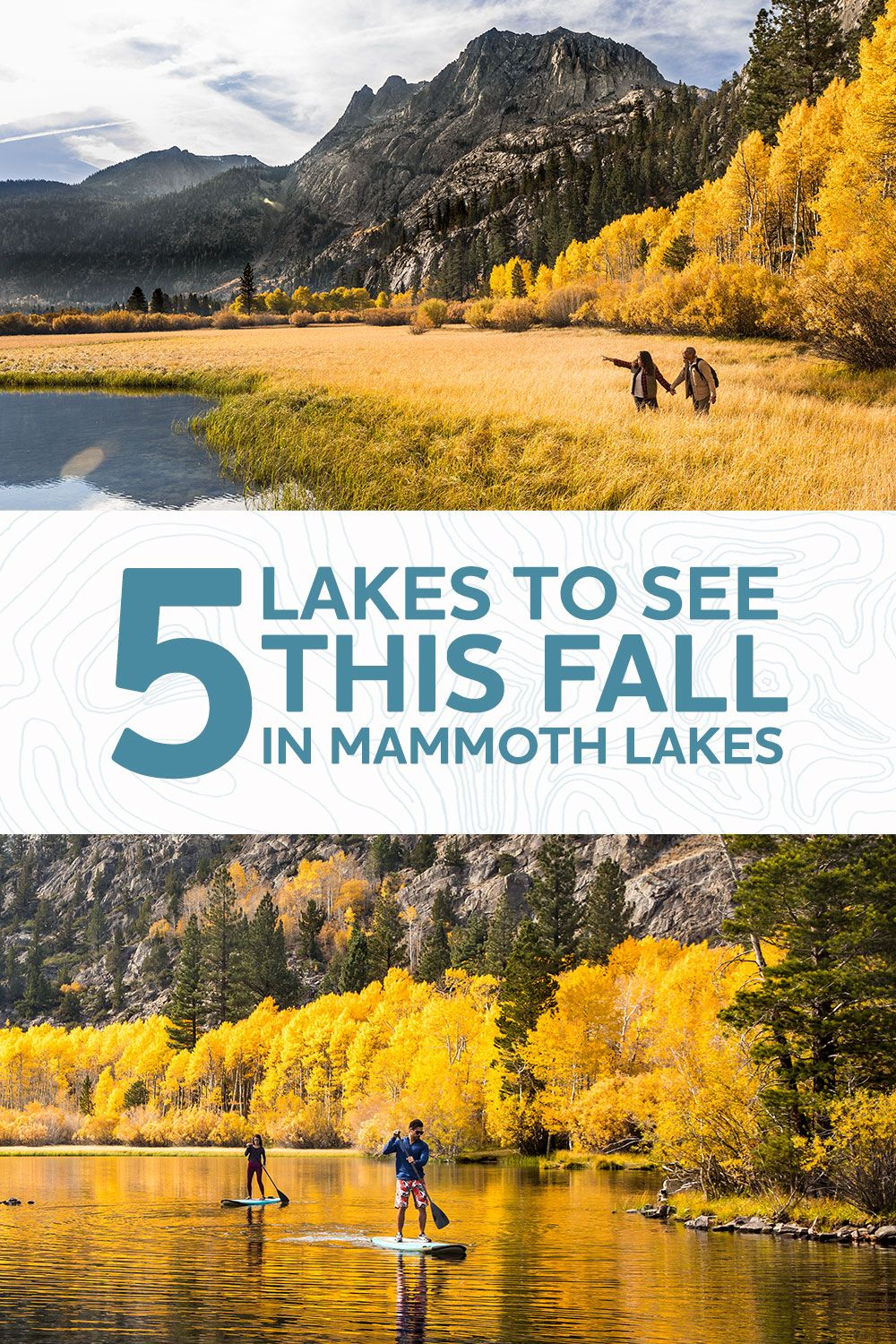 Top 5 Lakes For Fall Colors In The Eastern Sierra With Images