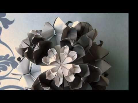 Beautiful Origami Flowers Youtube Origami 2 Pinterest