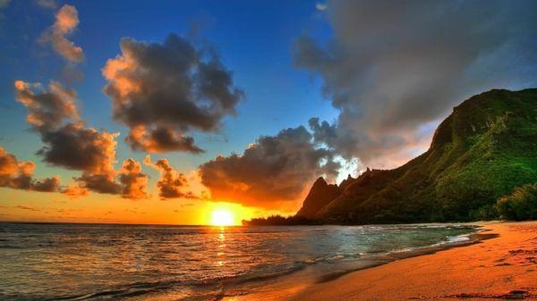 Couche de soleil sur la mer – les destinations les plus belles du Monde – Archzine.fr